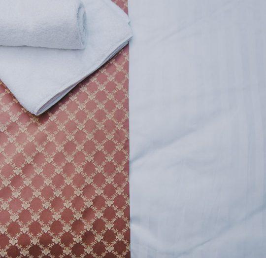 Miss Sophies Olomouc bedsheet detail