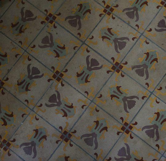 Miss Sophies Olomouc mosaic floor