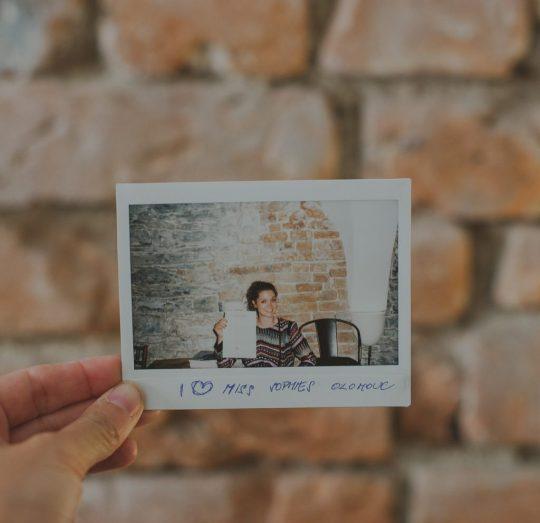 Polaroid Miss Sophies Olomouc party