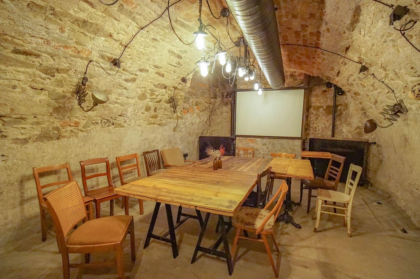 Sophie's Café basement