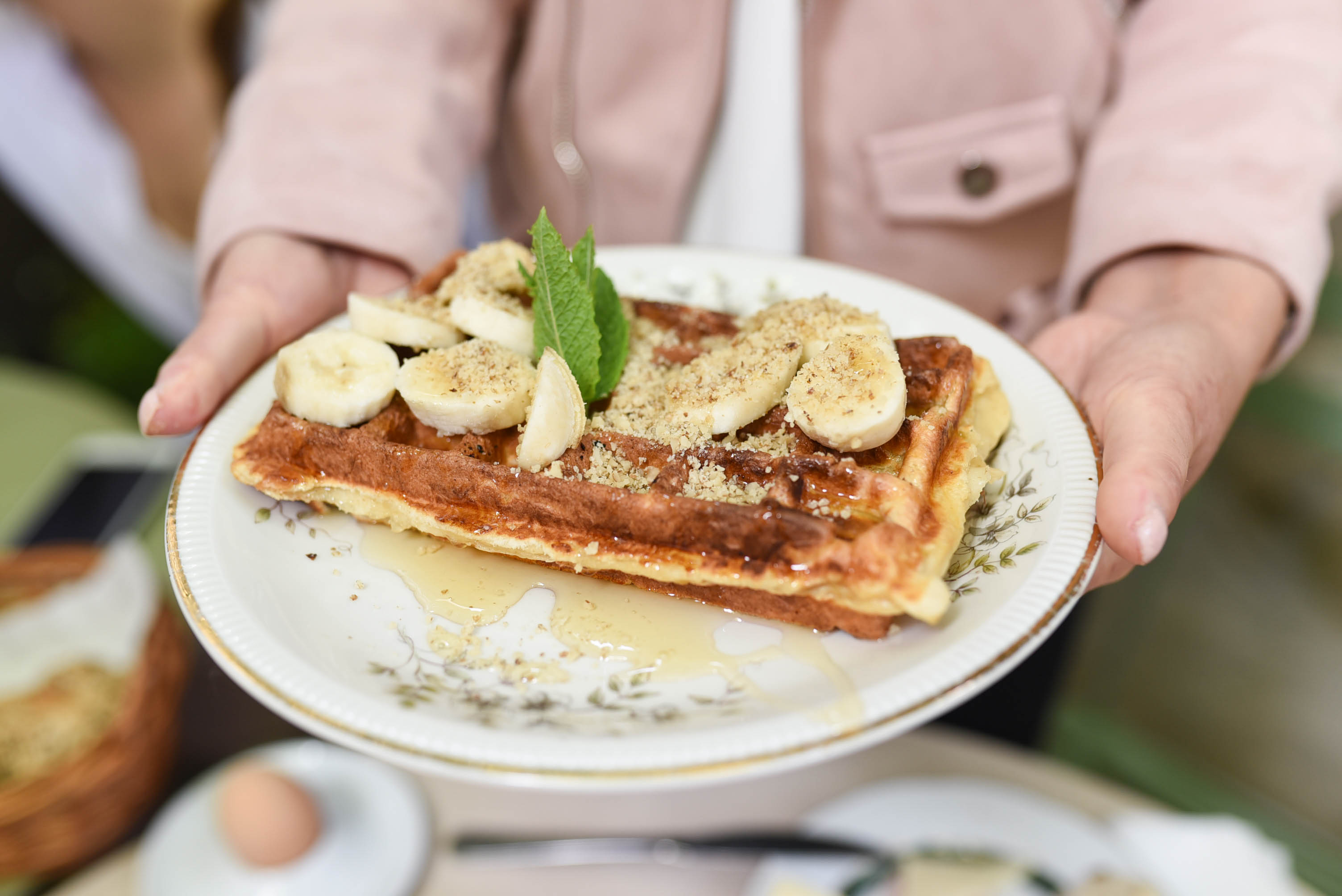 Sophies cafe waffles