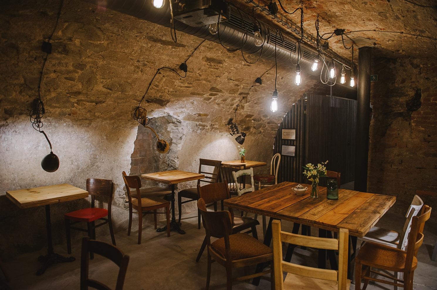 Sophies cafe basement