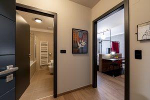 Miss Sophie's Downtown double room corridor