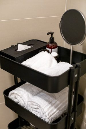 Miss Sophie's Downtown bathroom accessory set